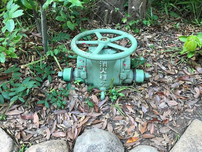 ディズニーシーで見た消火栓